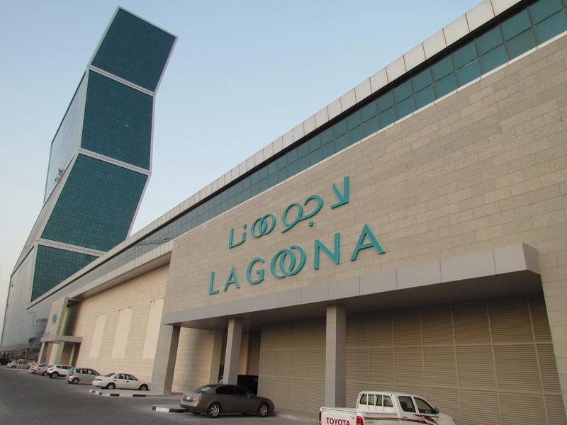 CONSTRUCTION OF STORAGE AT LAGOONA MALL
